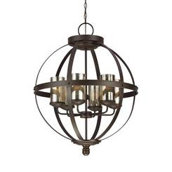 Sea Gull Lighting 3110406EN3-715 Six Light Chandelier
