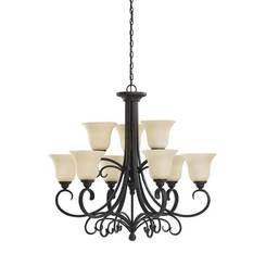 Sea Gull Lighting 31123-820 Nine Light Chandelier