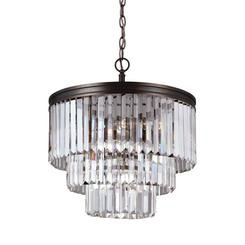 Sea Gull Lighting 3114004-710 Carondelet Four Light Chandelier