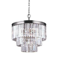 Sea Gull Lighting 3114004-965 Carondelet Four Light Chandelier