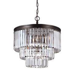 Sea Gull Lighting 3114004EN3-710 Four Light Chandelier