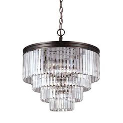 Sea Gull Lighting 3114006-710 Six Light Chandelier