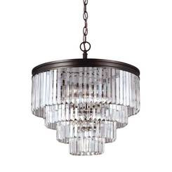 Sea Gull Lighting 3114006EN3-710 Six Light Chandelier