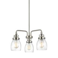 Sea Gull Lighting 3114503-962 Three Light Chandelier