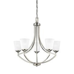 Sea Gull Lighting 3124505-962 Five Light Chandelier