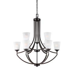 Sea Gull Lighting 3124509-710 Nine Light Chandelier