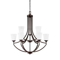 Sea Gull Lighting 3124509EN3-710 Nine Light Chandelier