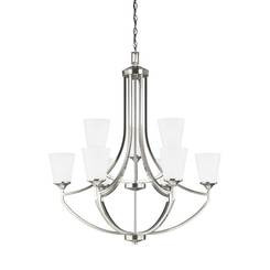 Sea Gull Lighting 3124509EN3-962 Nine Light Chandelier