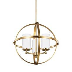 Sea Gull Lighting 3124603-848 Three Light Chandelier