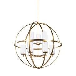 Sea Gull Lighting 3124609-848 Nine Light Chandelier
