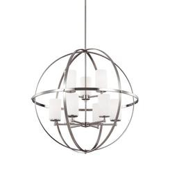 Sea Gull Lighting 3124609-962 Nine Light Chandelier