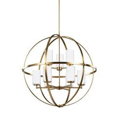 Sea Gull Lighting 3124609EN3-848 Nine Light Chandelier