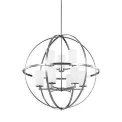 Sea Gull Lighting 3124609EN3-962 Nine Light Chandelier