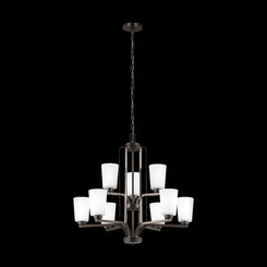 Sea Gull Lighting 3128909-710 Nine Light Chandelier