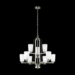 Sea Gull Lighting 3128909-962 Nine Light Chandelier