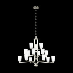 Sea Gull Lighting 3128915-962 Fifteen Light Chandelier