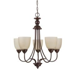 Sea Gull Lighting 31317-710 Five Light Chandelier