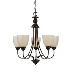 Sea Gull Lighting 31317EN3-710 Five Light Chandelier