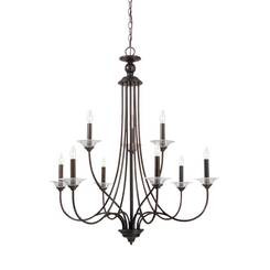 Sea Gull Lighting 31319EN-710 Nine Light Chandelier