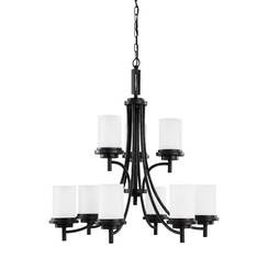 Sea Gull Lighting 31662EN3-839 Nine Light Chandelier