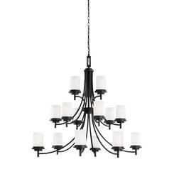 Sea Gull Lighting 31663-839 Fifteen Light Chandelier