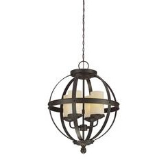 Sea Gull Lighting 3190404-715 Sfera Four Light Chandelier
