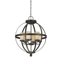 Sea Gull Lighting 3190406EN3-715 Six Light Chandelier
