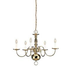 Sea Gull Lighting 3410EN-02 Five Light Chandelier