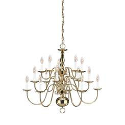 Sea Gull Lighting 3414EN-02 Fifteen Light Chandelier