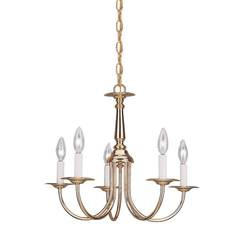 Sea Gull Lighting 3916EN-02 Five Light Chandelier