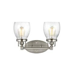 Sea Gull Lighting 4414502-962 Two Light Wall / Bath