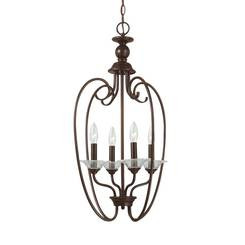 Sea Gull Lighting 51316-710 Four Light Hall / Foyer
