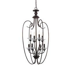 Sea Gull Lighting 51317EN-710 Eight Light Hall / Foyer