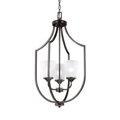 Sea Gull Lighting 5224503-710 Three Light Hall / Foyer