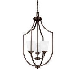 Sea Gull Lighting 5224503EN3-710 Three Light Hall / Foyer