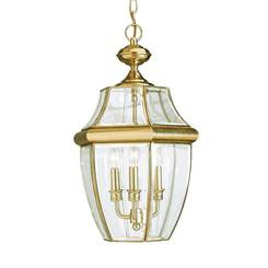 Sea Gull Lighting 6039-02 Three Light Outdoor Pendant