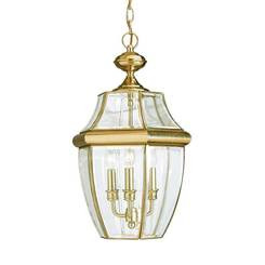 Sea Gull Lighting 6039EN-02 Three Light Outdoor Pendant