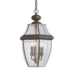 Sea Gull Lighting 6039EN-71 Three Light Outdoor Pendant