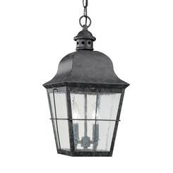 Sea Gull Lighting 6062-46 Two Light Outdoor Pendant