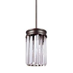 Sea Gull Lighting 6114001-710 One Light Mini-Pendant