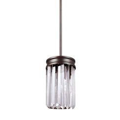 Sea Gull Lighting 6114001EN3-710 One Light Mini-Pendant