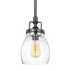 Sea Gull Lighting 6114501-782 One Light Mini-Pendant