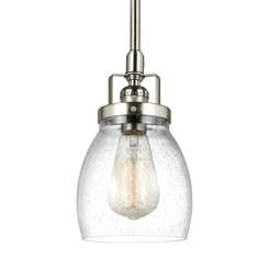 Sea Gull Lighting 6114501-962 One Light Mini-Pendant