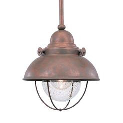 Sea Gull Lighting 6150-44 One Light Outdoor Mini-Pendant