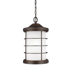 Sea Gull Lighting 6224451-71 One Light Outdoor Pendant