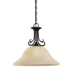 Sea Gull Lighting 65121-820 One Light Pendant