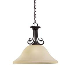 Sea Gull Lighting 65121EN3-820 One Light Pendant