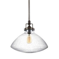 Sea Gull Lighting 6514501-782 One Light Pendant