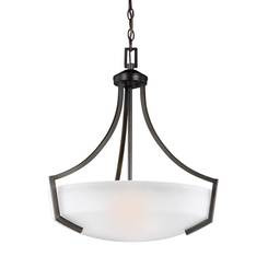 Sea Gull Lighting 6624503-710 Three Light Pendant