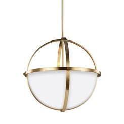 Sea Gull Lighting 6624603-848 Three Light Pendant